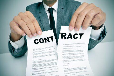 Les contrats d'eau, d'internet, etc ...