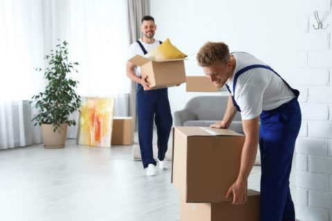 des déménageurs