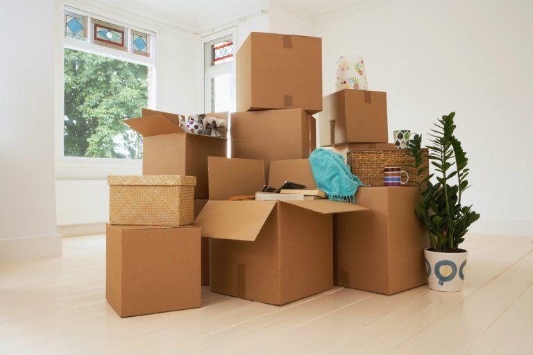 L'étape du déménagement